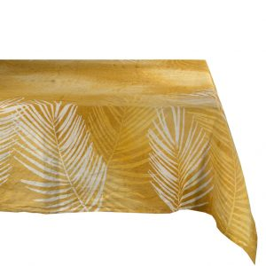 Bertozzi tropical tablecloth Ochre