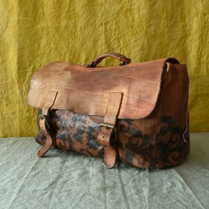 italian leather travel bag