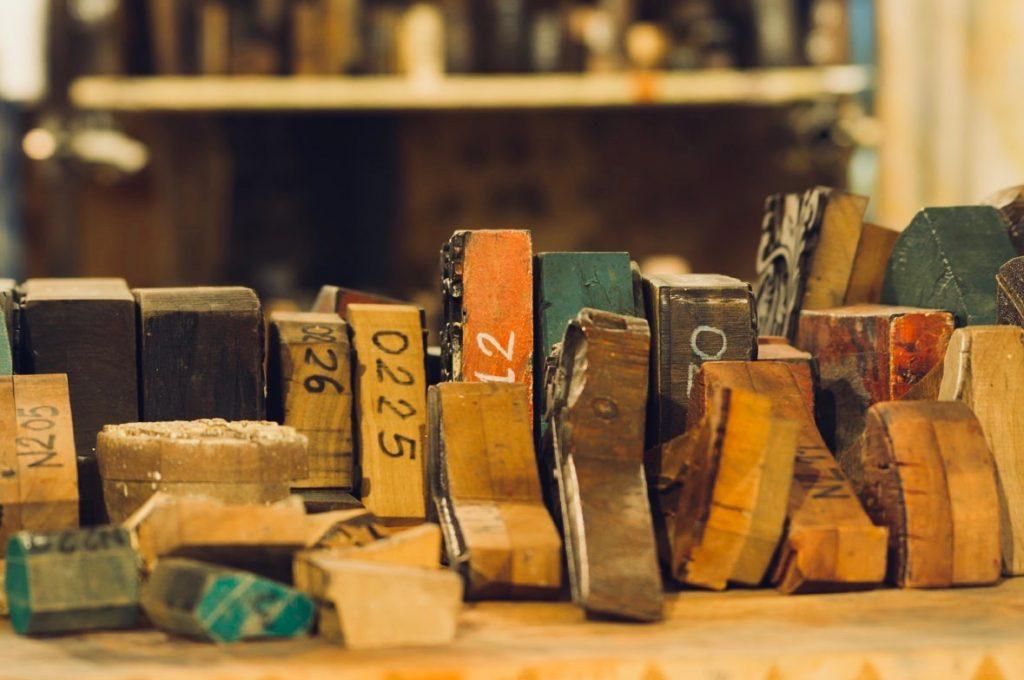 Bertozzi wood bloc stamps