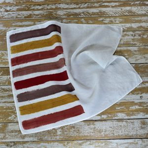 Bertozzi linen tea towels striped