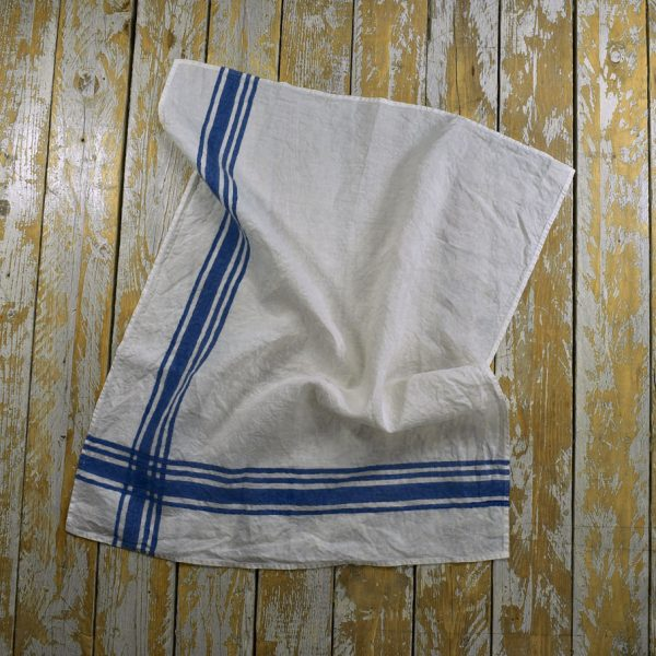 Bertozzi kitchen towel blue navy
