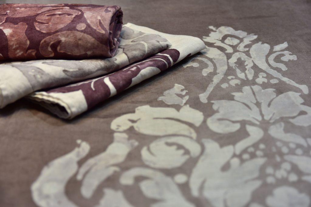 Bertozzi linen napkins grey