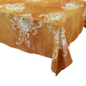 Bertozzi linen tablecloth coccio