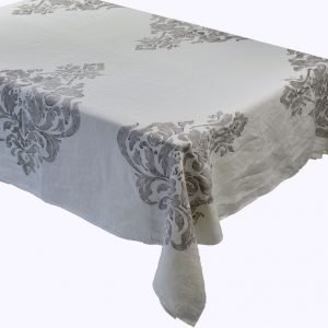 Bertozzi linen tablecloth grey