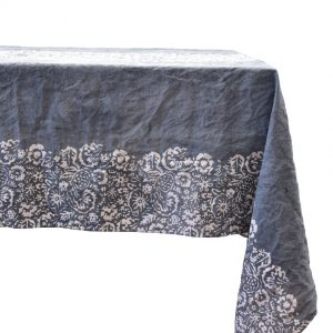 Bertozzi grey table linens