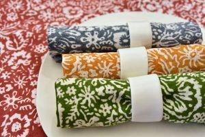 Bertozzi linen colour napkins