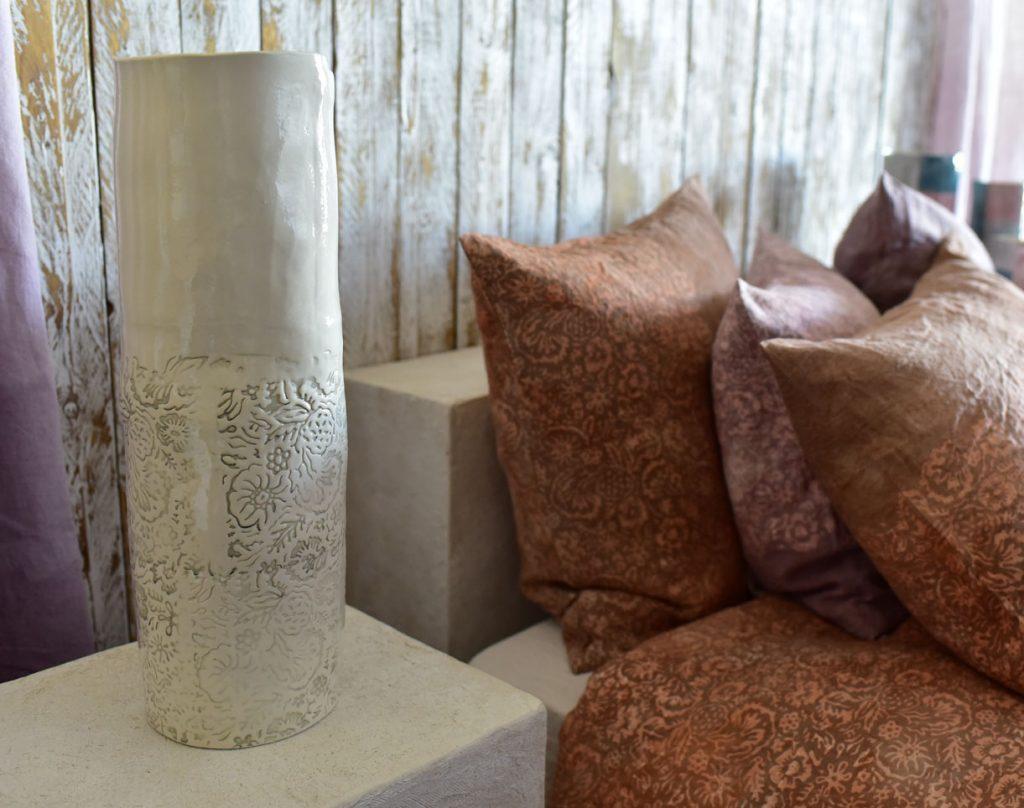 Bertozzi handmade porcelain vase