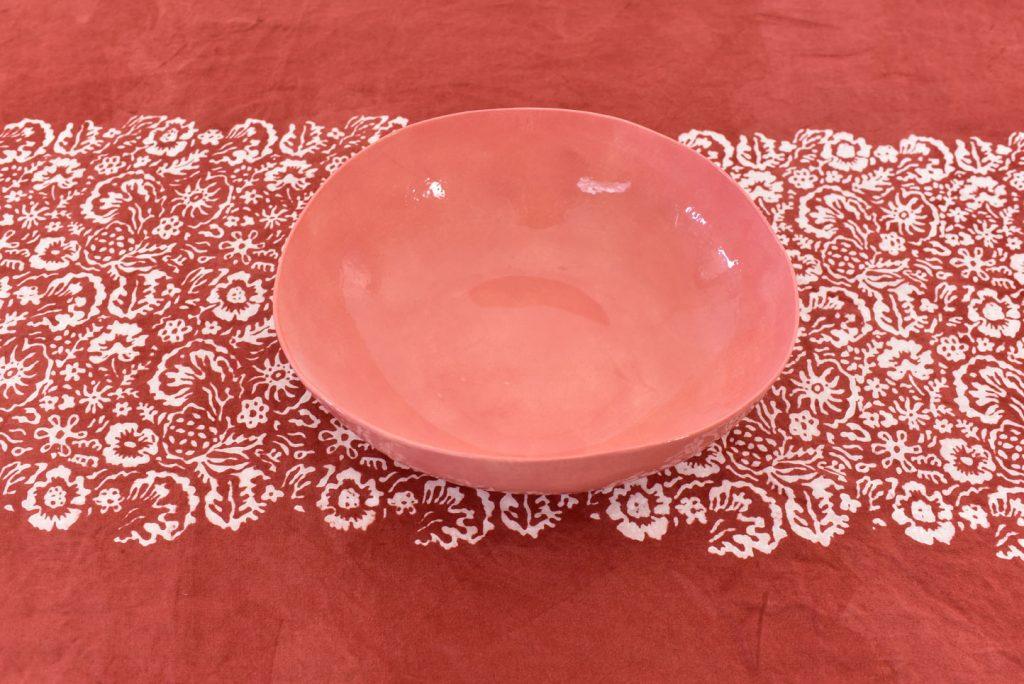 Bertozzi red tablecloth