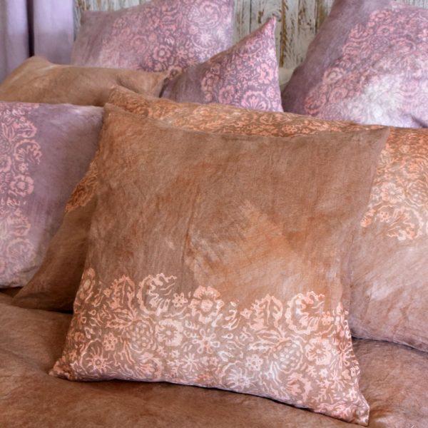 linen pillow cases mattone