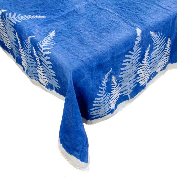Linen tablecloth Bertozzi Fern