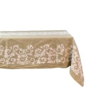 Purely natural hemp tablecloths