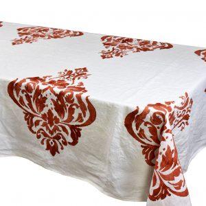 bertozzi linen tablecloths coccio