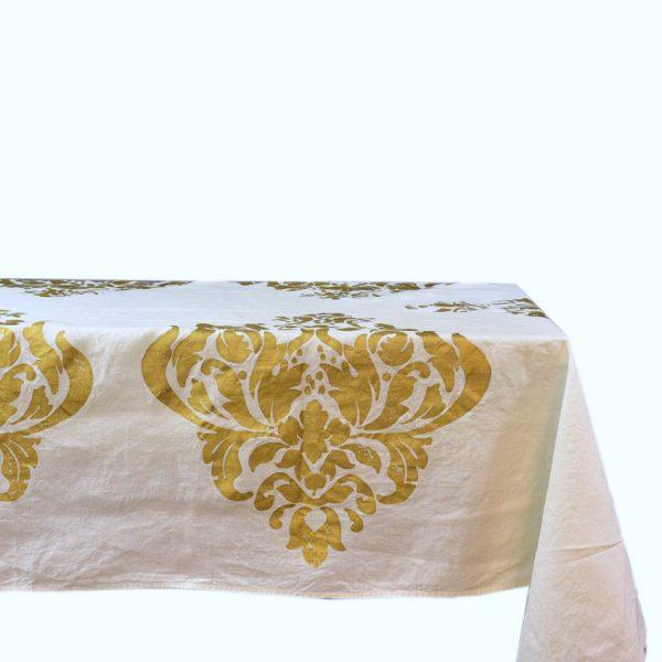 Bertozzi gold tablecloth