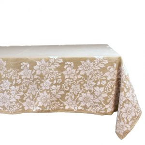 purely natural hemp tablecloth