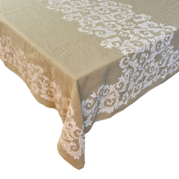 Purely organic hemp tablecloths