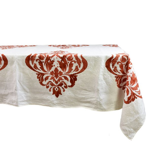 Bertozzi linen tablecloth