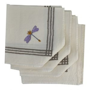 Bertozzi dragonfly napkins