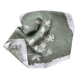 Bertozzi linen tea towel wildflowers