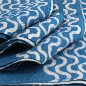 Bertozzi blue napkins