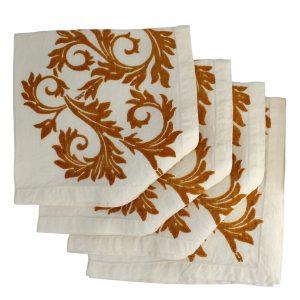 Bertozzi Acanto linen napkins