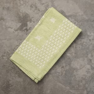 Italian green kitchen towel