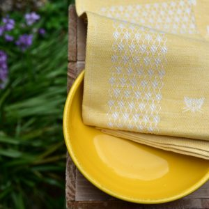 pardi yellow kitchen towels