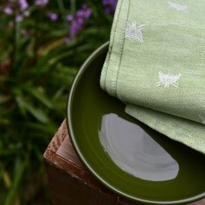 Pardi green kitchen towels