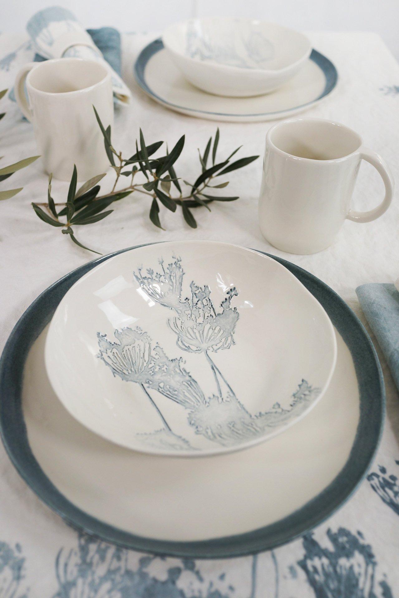 floral limoges porcelain bespoke design