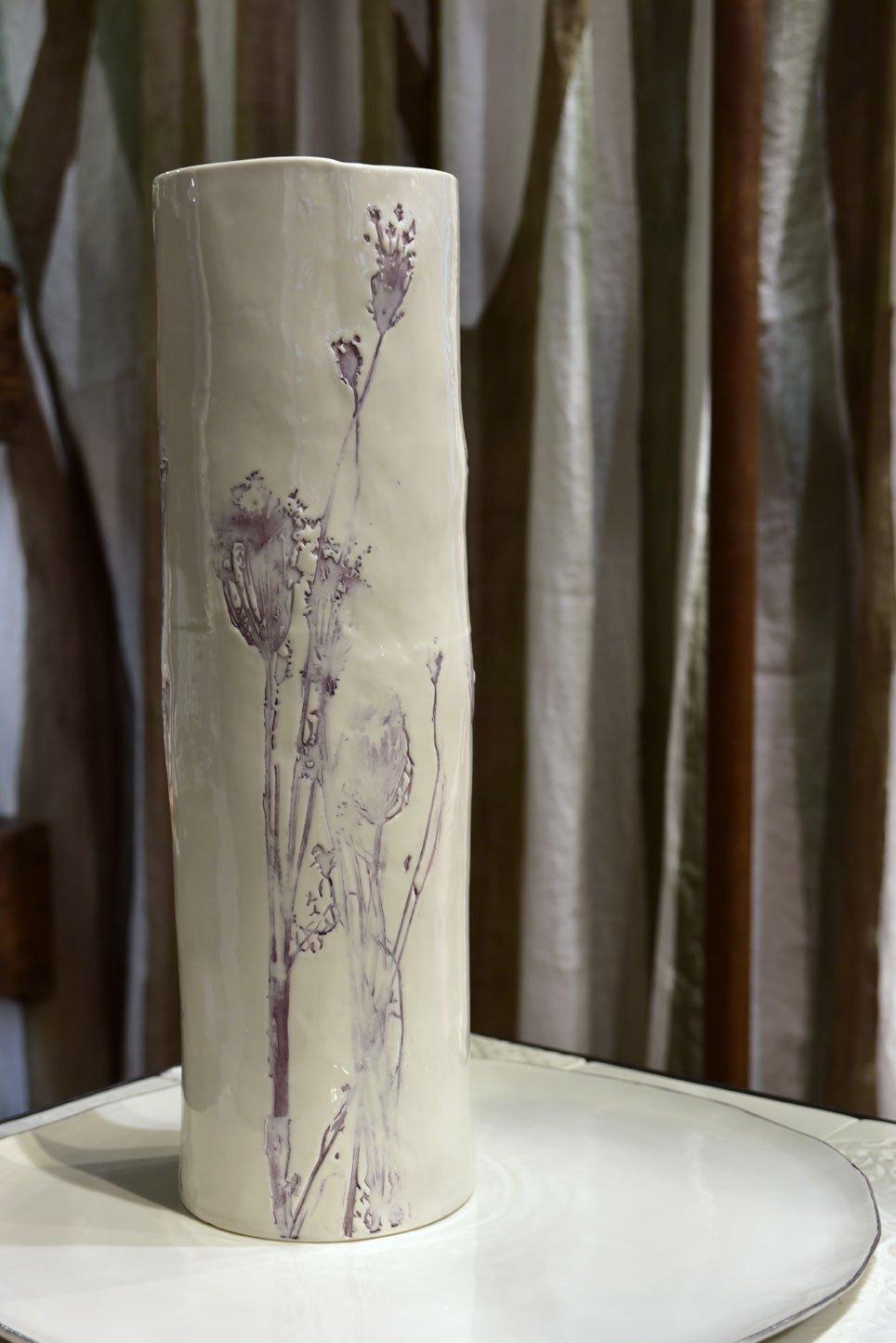 Hand made porcelain vase