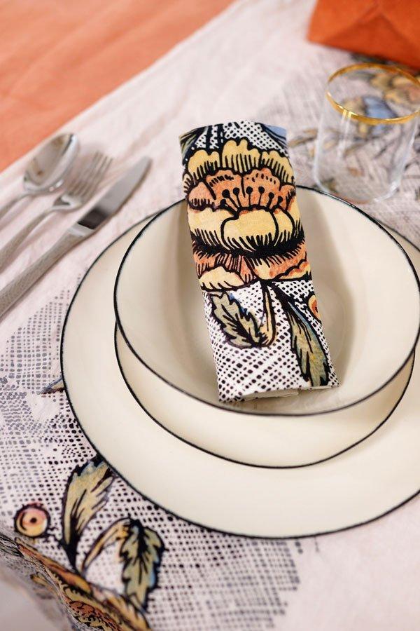 Bertozzi handmade porcelain dinner set