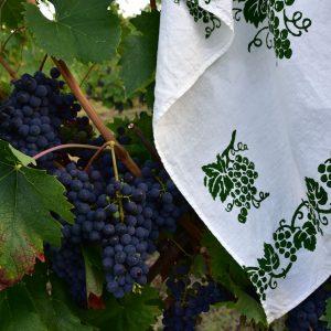 Italian artisans linen tea towel