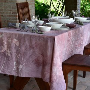 Bertozzi italian linen tablecloth