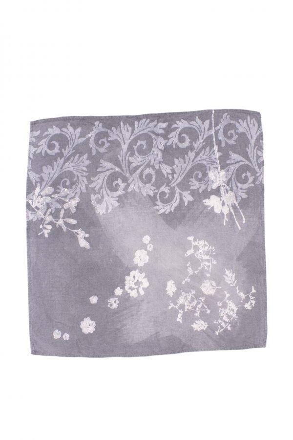 Bertozzi organic linen napkin grey