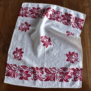 Italian artisan rustic tea towel