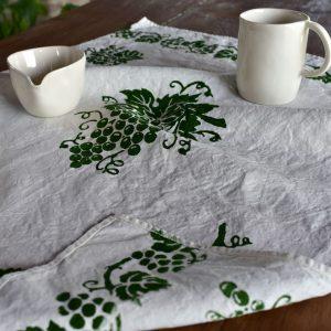 Bertozzi hand crafted towel
