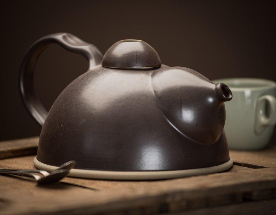 Bucci Handmade Stonefire Teapot f