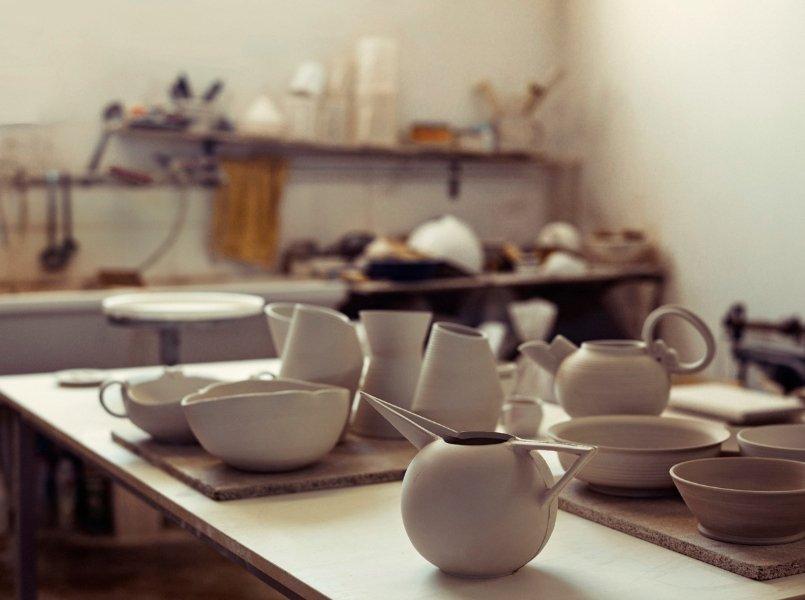 Selection of ceramic kitchenware items by Ceramiche Bucci