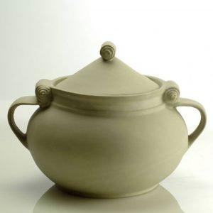 italian handmade ceramic stoneware pot