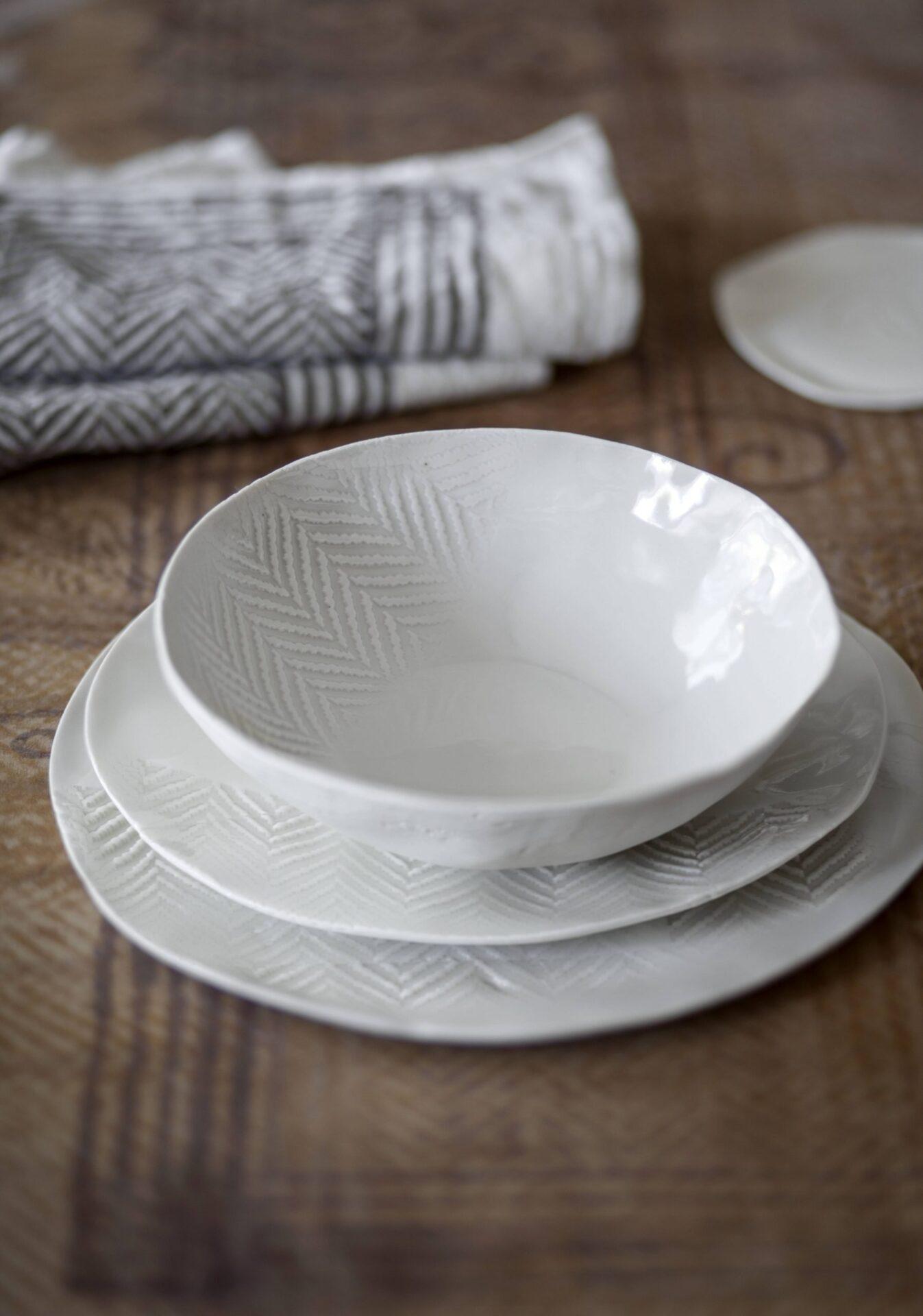 luxury porcelain table set