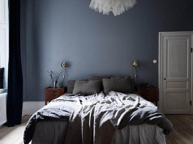 Muted home decor ideas - bedroom