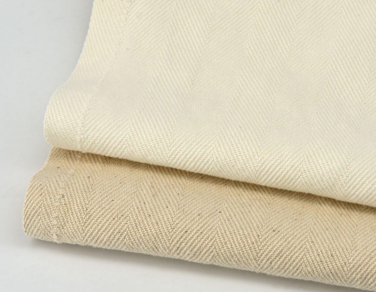 Herringbone Blended Linen