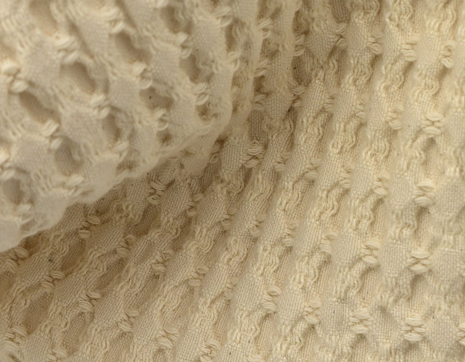 Waffled Cotton detail