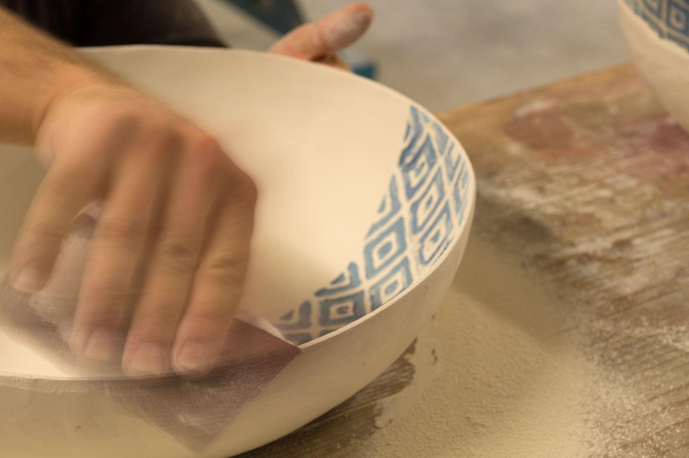 handmade porcelain bespoke decor