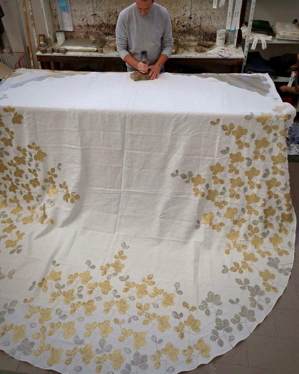 custom made linen tablecloth