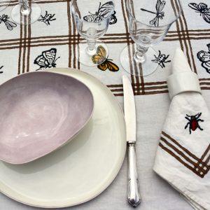 luxury linen napkin for spring
