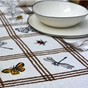 insect tablecloth