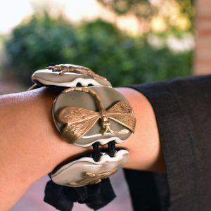 Elegant handmade Murano Glass bracelet