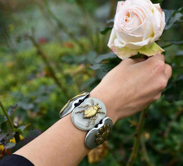 elegant bracelet Murano Glass