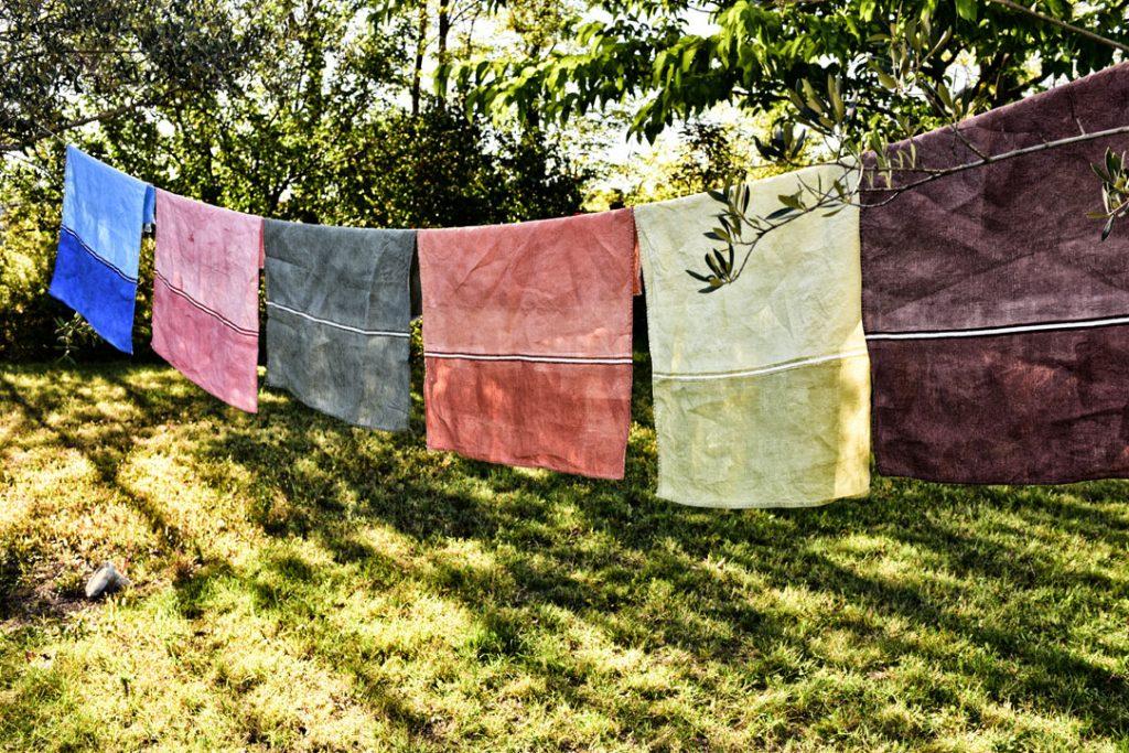 beautiful linen tea towels