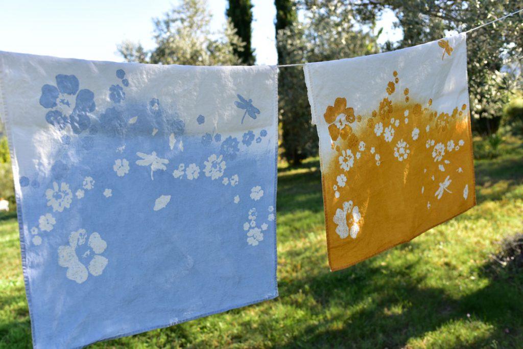 hanging tea towels